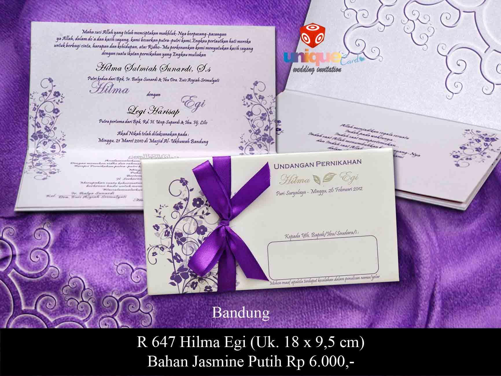 unique gallery undangan pernikahan wedding invitation